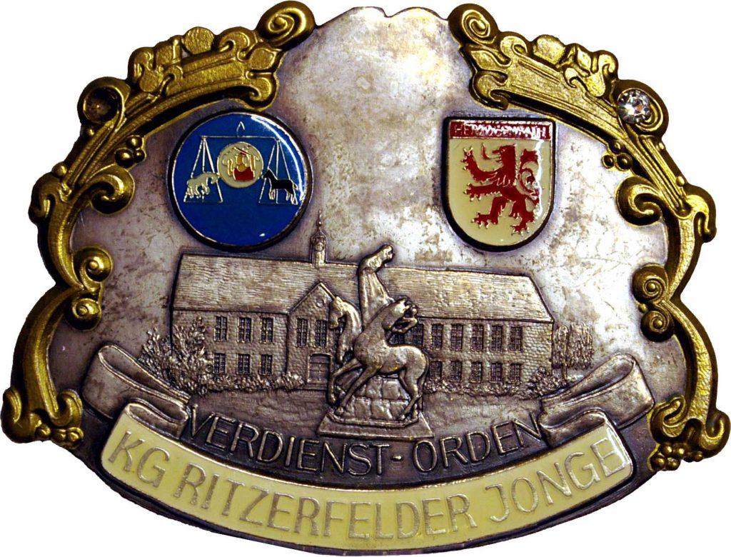 Verdienstorden der KG Ritzerfelder Jonge 1957 e.V.
