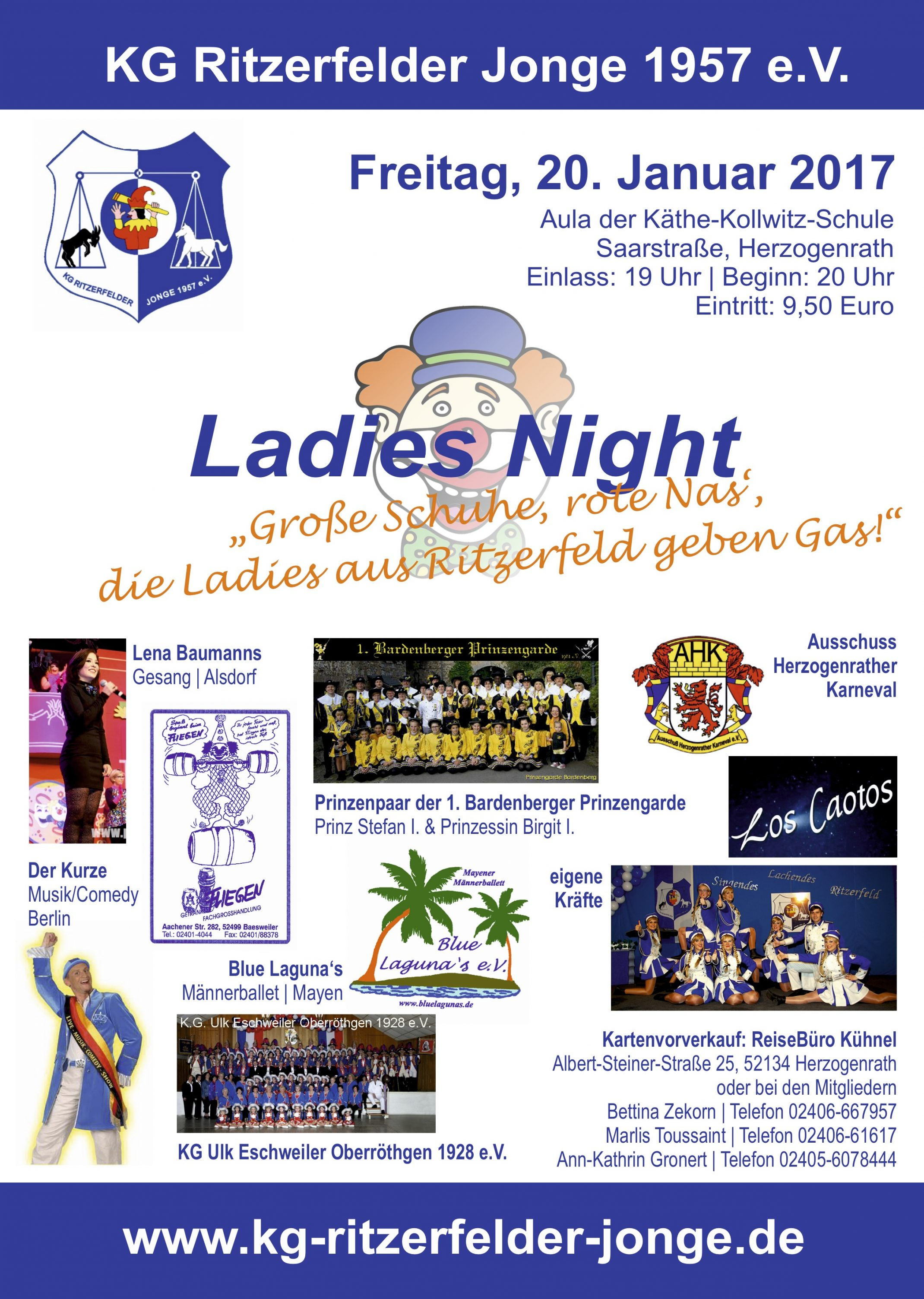 Plakat Ladies Night 2017