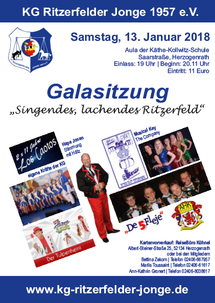 Galasitzung @ Käthe-Kollwitz-Schule, Herzogenrath