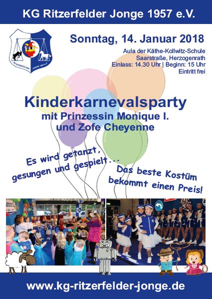 Kinderkarneval @ Käthe-Kollwitz-Schule, Herzogenrath