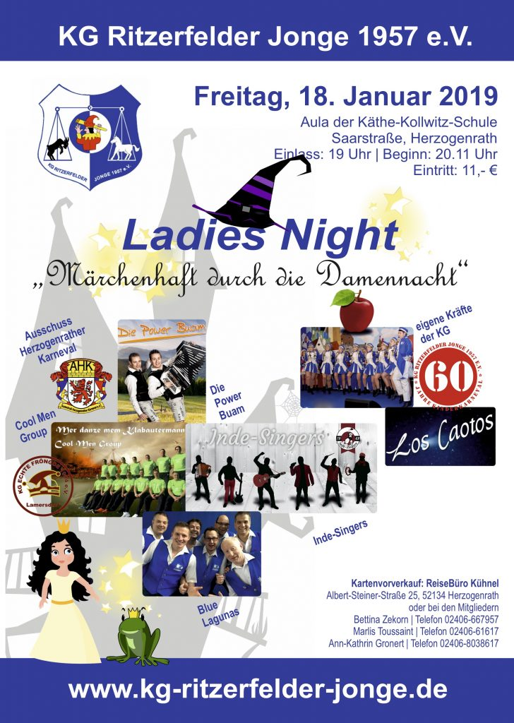 Ladies Night @ Aula Käthe-Kollwitz-Schule