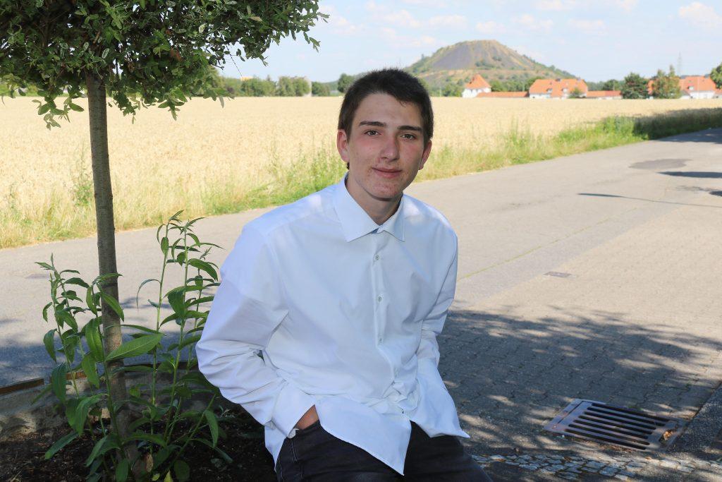Designierter Jugendprinz 2018-2019 Florian Frings