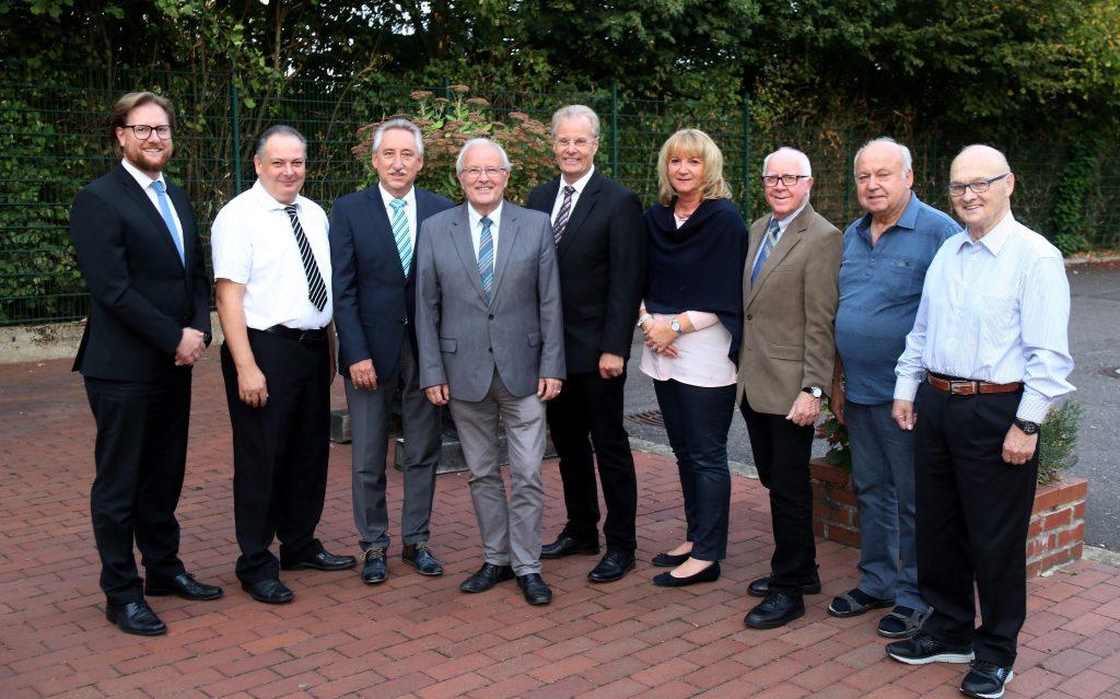 Vorstand des Festausschusses 2018